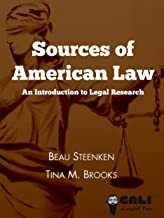 sources of american law an introduction to legal research