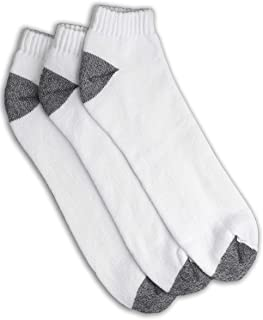 Harbor Bay by DXL Big and Tall Continuous Comfort Low Cut Socks, 3 Pairs