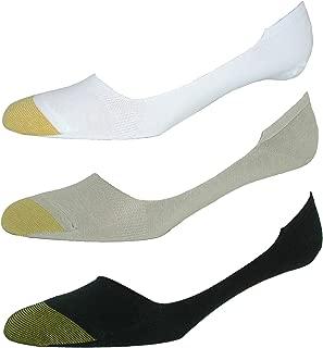Gold Toe Men's Extended Size Loafer No Show Liner Socks (3 Pair Pack)
