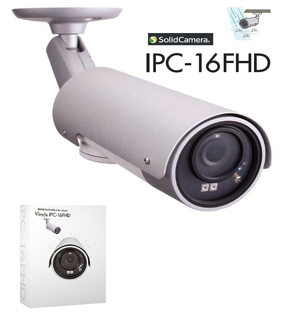解明するプロフィール病者SolidCamera 【IPC-16FHD 1台】 屋外用フルHD IPネットワークカメラ