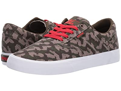 Supra Cobalt (Camo/Risk Red/White) Men