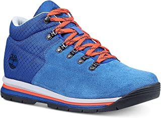 Timberland Men's GT Rally Mixed Media Boots Blue