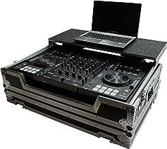 Harmony HCMCX8000LT Flight Glide Laptop Stand DJ Custom Case for Denon MCX8000