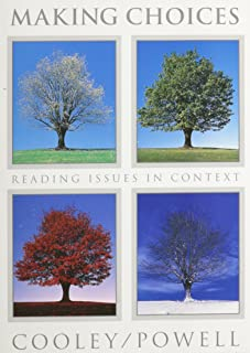 Making Choices: Reading Issues in Context
