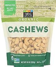 365 Everyday Value, Organic Cashews, 10 oz