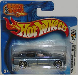 Hot Wheels 2004 First Editions Series Maserati Quattroporte 1:64 Scale Collectible Die Cast Car #29/100 on SHORT EUROPEAN CARD