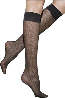 Silkies Women's Honeycomb Sheer Trouser Socks 2 Pair Pack