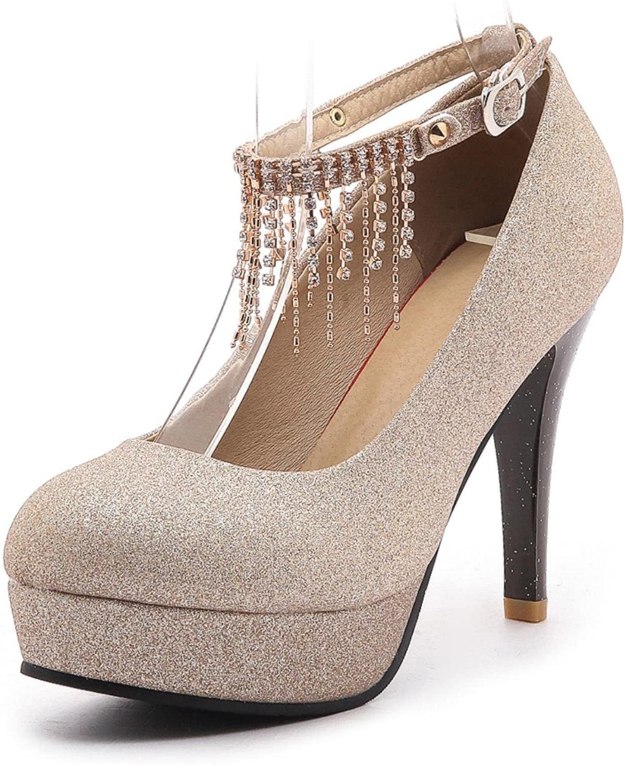 Thin High Heels Leisure Party Wedding Woman Pumps Trendy Crystals
