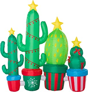 Best outdoor lighted cactus Reviews