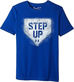 Under Armour Kids - Step Up Short Sleeve Tee (Big Kids)