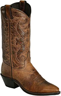 Abilene Women's Hand Tooled Inlay Cowgirl Boot Snip Toe
