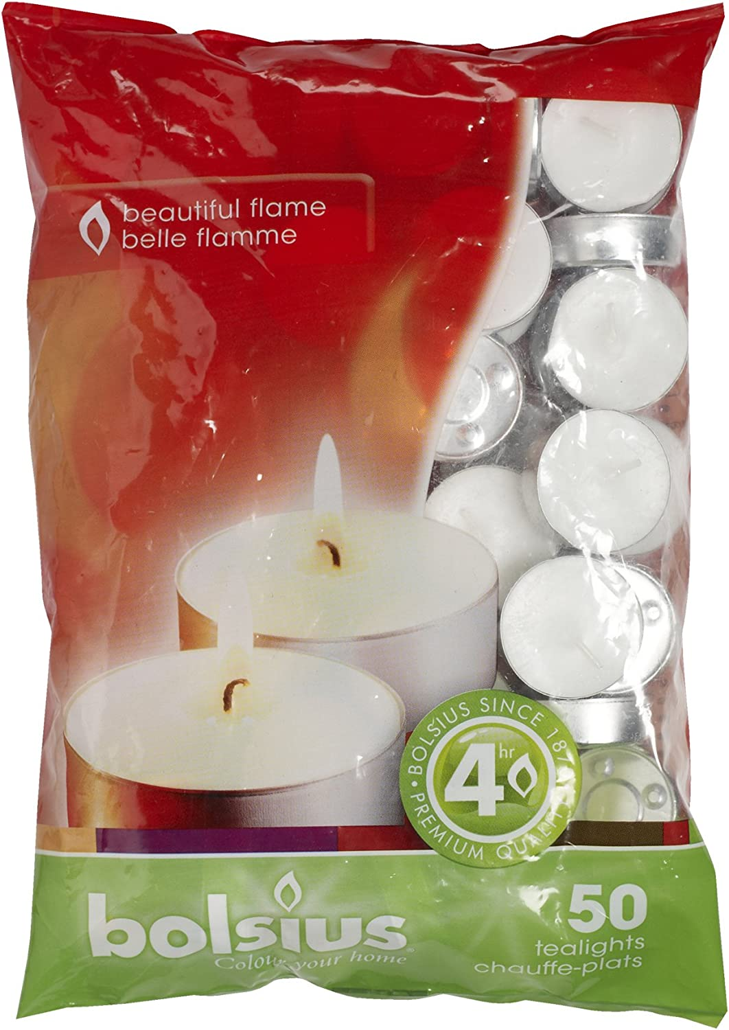 Bolsius 4 Free Shipping New Hour Burning Online limited product Tealights Bag