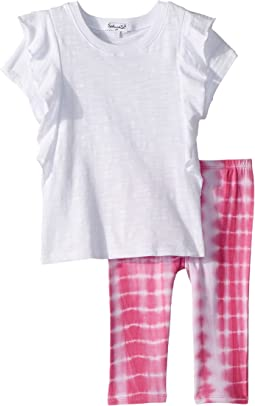 Tie-Dye Leggings Set (Little Kids)
