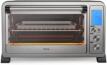 hOmeLabs Digital Countertop Convection Oven – 1500 Watts, Stainless Steel Exterior..