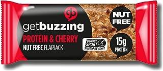 Get Buzzing Getbuzzing Tuerca De Proteína Libre De Cereza 3 X 62g (Paquete de 6