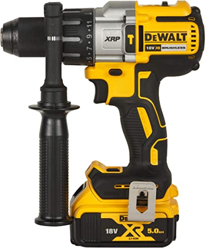 DEWALT DCD996P2 18V 13mm XR Li-ion Premium Cordless Hammer Drill Driver with Brushless Motor with 2x5.0Ah Battery inc...