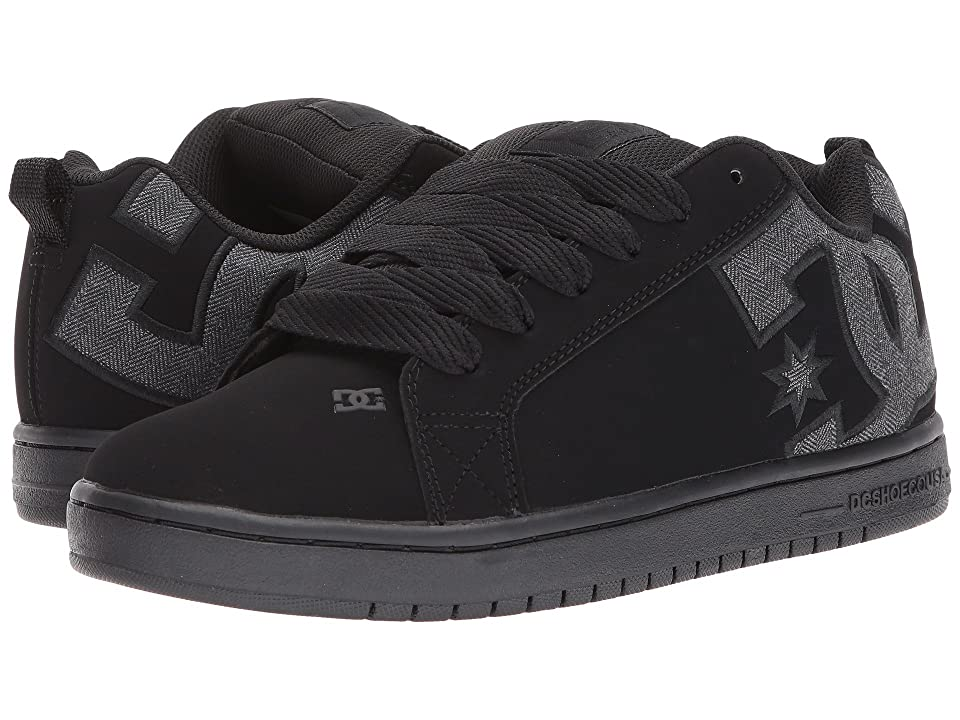 DC Court Graffik SE (Black/Heather Grey) Men