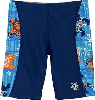 Tuga Boys Jammer Swim Short 2-14 Years, UPF 50+ Sun Protection Swim Bottom