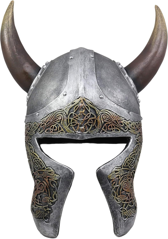 Ranking TOP9 Ebros Norse Mythology Horned Valhalla Viking Helmet Decor Sculpt Brand Cheap Sale Venue
