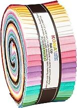 Darlene Zimmerman Kona Cotton Solids 30's Palette Roll Up 40 2.5-inch Strips Jelly Roll Kaufman