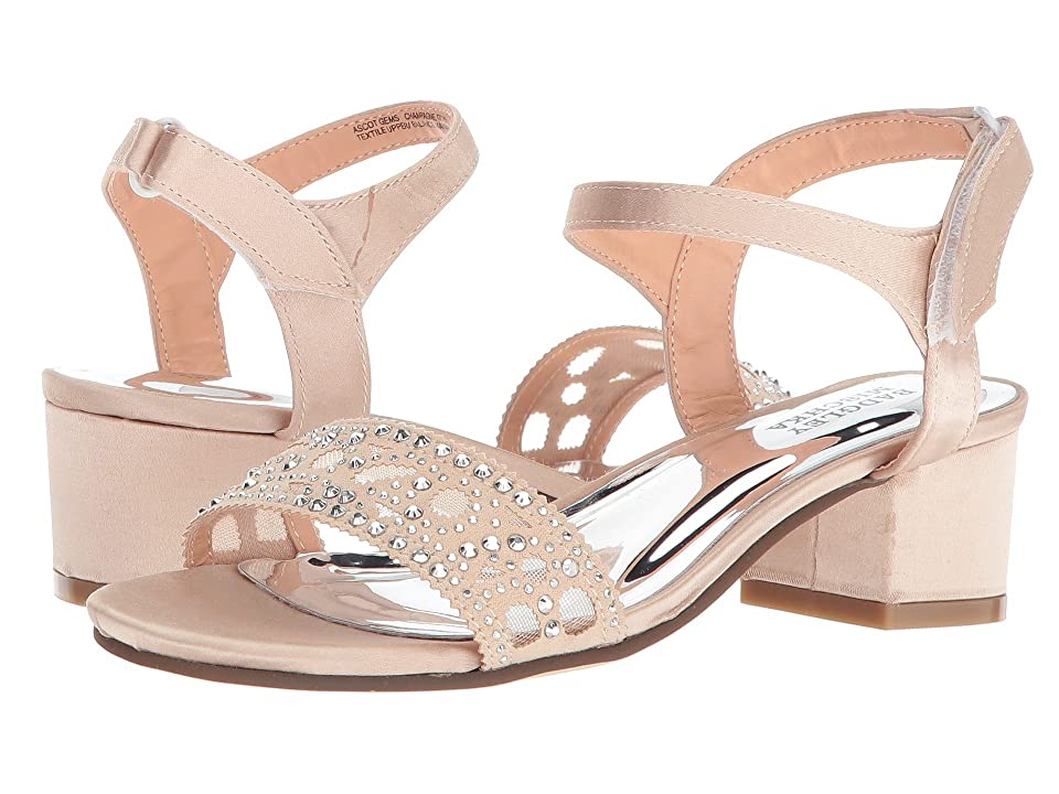 Badgley Mischka Kids Ascot Gems (Little Kid/Big Kid) (Champagne Gold) Girls Shoes