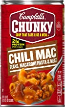 Campbell's Chunky Chili Mac Soup, 18.8 oz. Can