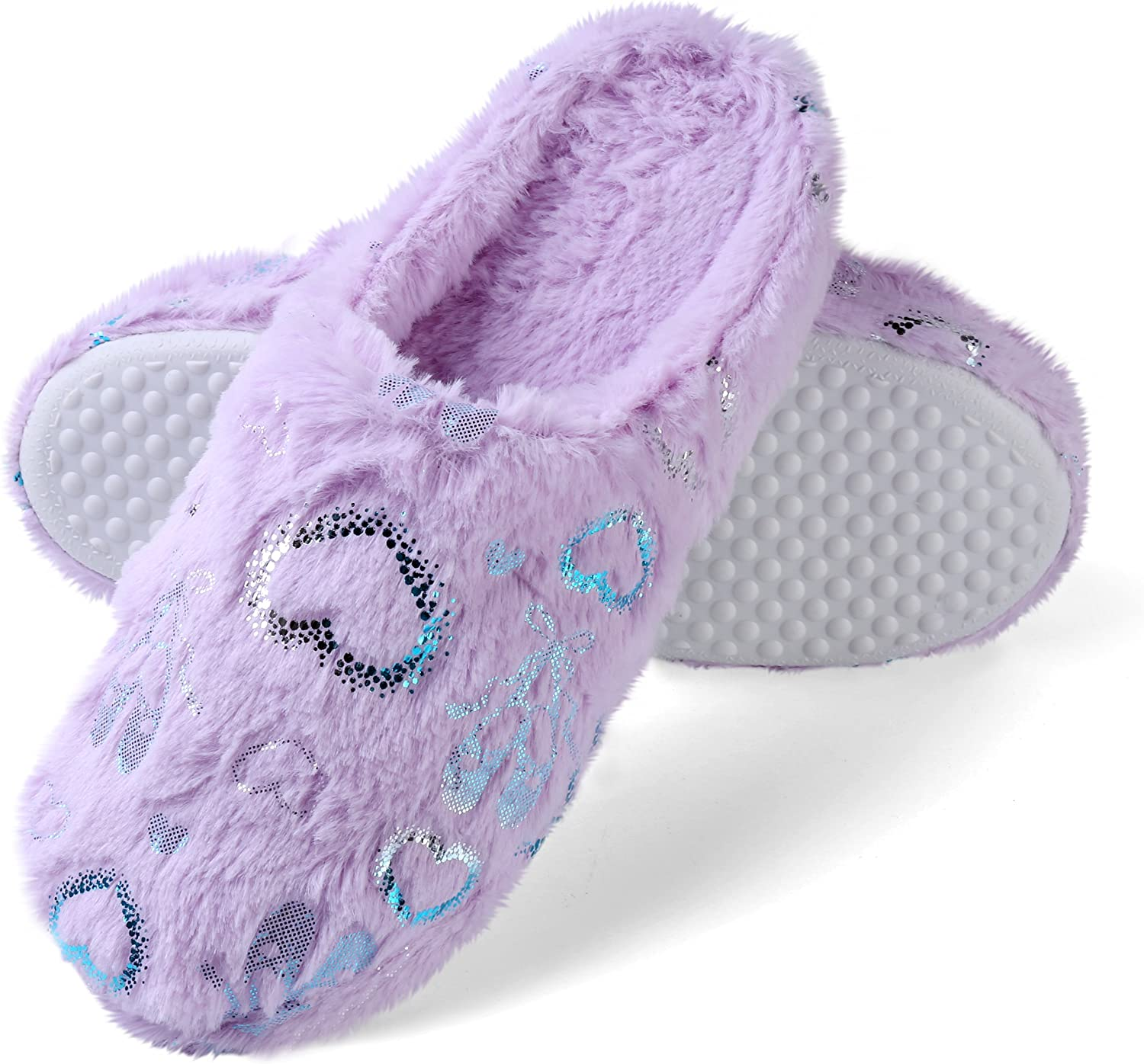 Aerusi Women's Cozy Fluffy Plush Fleece Clog Lined Popular shop is the lowest Topics on TV price challenge Scuff Slip on