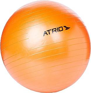 Bola de Ginástica 55cm de Diâmetro Material Pvc Laranja Atrio - Es118