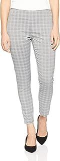 Oxford Women's Jackie Zipper Crop Checked Pants