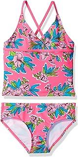 Kanu Surf Girls' Krista Floral Tankini Swimsuit