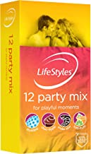 LifeStyles Party Mix Condom 12 Pack, 12 count