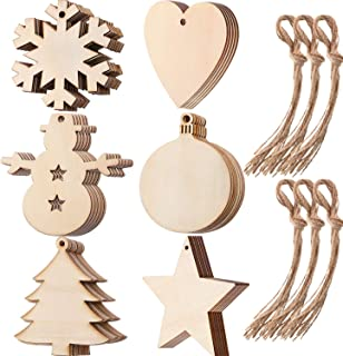 Best wooden cut out christmas ornaments Reviews