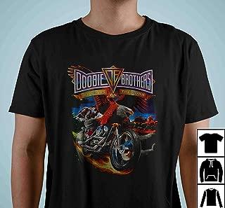 Doobie Brothers 27 Years on the Road Tour Concert Farewell Vintage T Shirt Long Sleeve Sweatshirt Hoodies