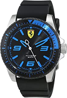 Scuderia Ferrari Casual Watch Analog Display Quartz For Men 830466, Black Band