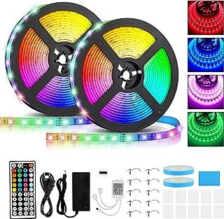 comprar comparacion Tiras LED 10M, Tiras LED Musical 2835 SMD, Tiras de Luces LED Iluminación con 600 LEDS, Tiras LED de Luces Kit con Control...