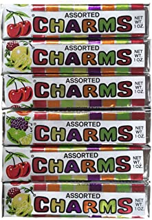 Assorted Charms Candy, 1 Oz. Rolls (Set of 6)