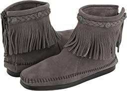 Hi-Top Back Zip Boot