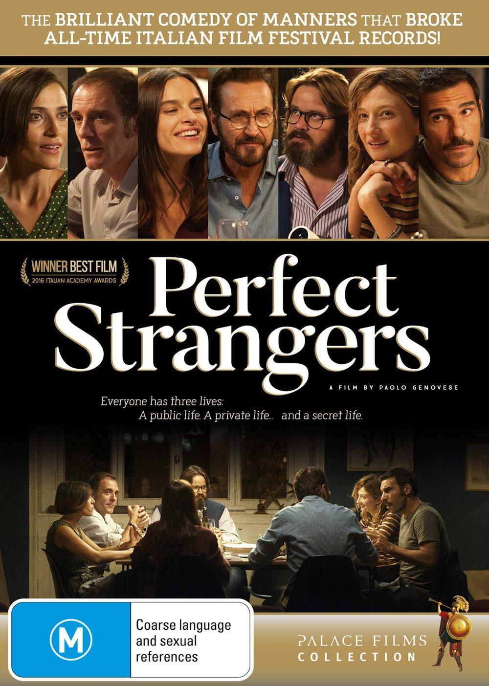 Perfect Strangers   English Subtitles   NON USA Format   PAL   Region 20  Import   Australia