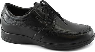 Lion 8457 Nero Scarpe Sneakers Uomo Confort antistatiche Pelle Lacci