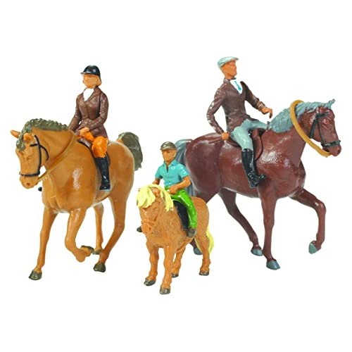 Britains 1 32 Horse and Riders - Scale Horse Riders Set - Collectable Farm  Toy 65fb285e10d23