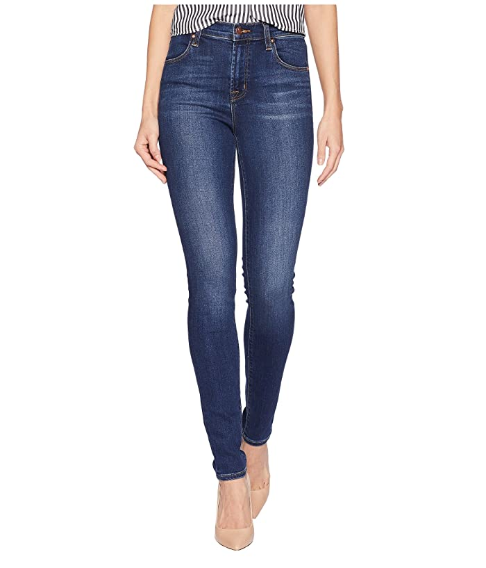 2ae7cc637778c7 J Brand Maria High-Rise Skinny in Fleeting at Zappos.com