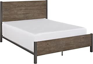 Barnside Metro Gray King Bed by Homes Styles