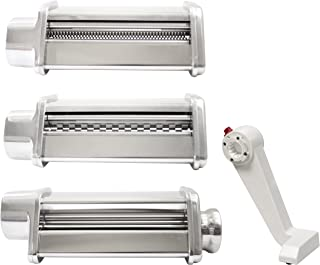 Pasta Roller and cutter for Spaghetti and Fettuccine for...