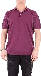 HERITAGE Luxury Fashion Mens 0243P2ZZEMELANZANA Purple Polo Shirt | Season Outlet