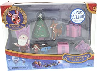Forever Fun Rudolph the Red-Nosed Reindeer Santa's Castle Hall Diorama 2015 PVC Figurine Set