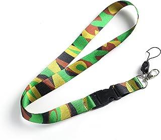 Camouflage Camo Lanyard Neck Strap pour porte-badge d'identification