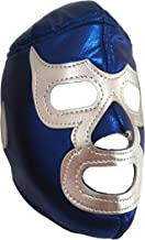 Blue Demon Lucha Libre Mexicana Luchador Mexican Wrestling Mask Costume Adult Size, Blue, One Size