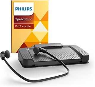 Philips LFH7277/07 USB SpeechExec Pro Version 10.0 Transcription Set 7277 with Speech Recognition Module