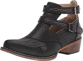 Roper womens Western Boot,Black,5.5