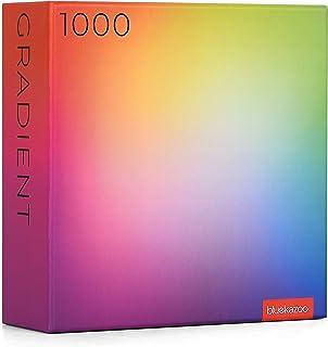 Rainbow Gradient Jigsaw Puzzles, 1000 Piece, Large Rectangle Art Puzzle for Adults, Unique & Premium Quality
